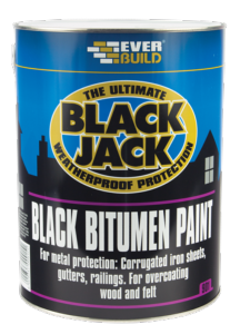 Everbuild Black Bitumen Paint 901
