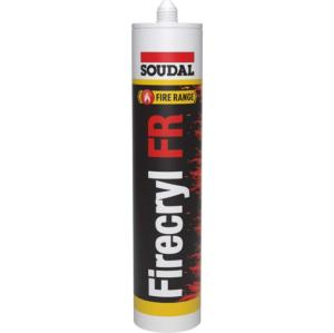 Soudal Firecryl Intumescent Sealant - White
