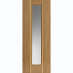 Roma Prefinished Oak Juno Glazed Door