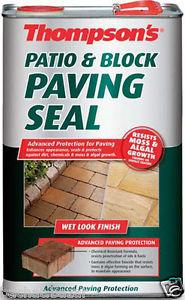 Thompson's Patio and Block Paving Seal 5ltr