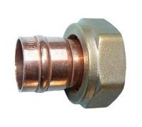 Solder Ring Straight Cylinder Connector 22mm x 1""