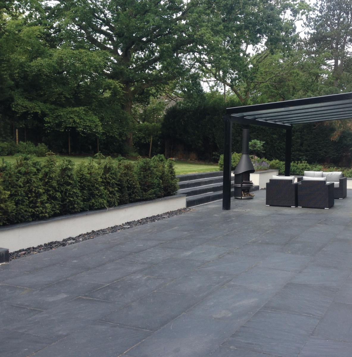 Black Slate Calibrated Project Pack 18 8m2