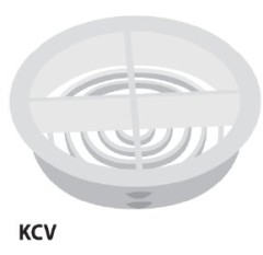 Timloc Circular Push In Soffit Vent White 1140