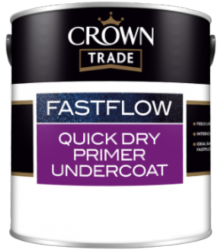 Crown Trade Fastflow Quick Dry White Primer Undercoat