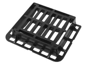 440 x 400 x 100mm D400 Hinged Gully Grate and Frame