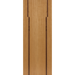 Inspiration Harmony Oak with Walnut Inlays Door