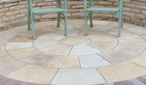 ClassicStone Circle 2.4m Diameter with Squaring Off Kit