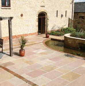 Heather Sandstone Paving 18.9m2 Calibrated Project pack