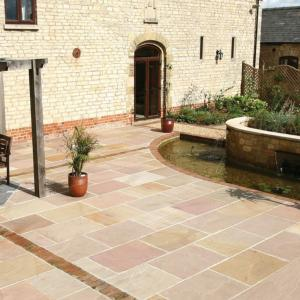 Classicstone Heather Sandstone Paving Calibrated 18.9m² Project Pack