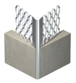 Galvanised Angle Bead