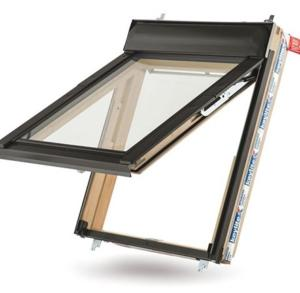 Keylite Thermal Top Hung Roof Window Pine finish