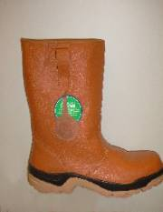 Rigger Boots Tan Warmlined