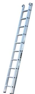 Youngman 2 Section Trade 200 3m Ladder