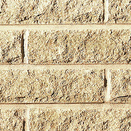 Walling Pitched Faced Buff 65mm