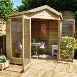 Blockley Summerhouse 7x7 - Assembled On Site
