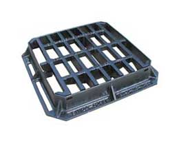 336 x 315 x 75 C250  Hinged Gully Grate and Frame