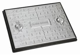 600 x 450 10 Tonne Galv Steel manhole Cover and frame