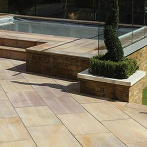 Maple Sandstone Paving