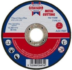 Faithfull Cutting Disc