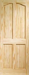 XL Rio 4 Panel Clear Pine Door