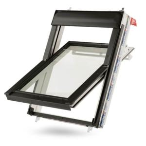 Keylite Hi Therm White Finish Centre Pivot Roof Window