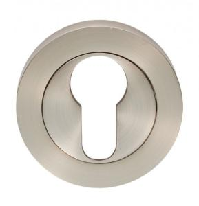 Escutcheon - Euro Profile Satin Nickel