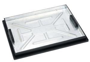 600 x 450 Glav Recessed Tray Sealed and Locking