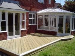 timber and composite decking