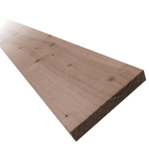 150 x 16mm 2.4mtr Brown Treated Fence Board