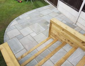Castle Grey Sandstone 19.2m² Project Pack