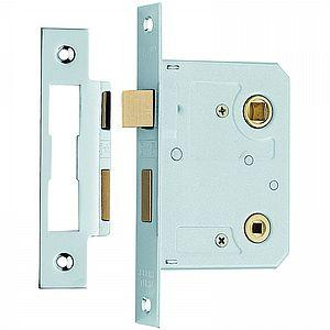 "Bathroom Lock 73mm (3"")"