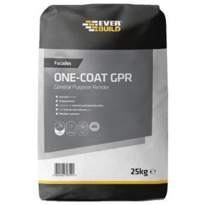 Everbuild One Coat General Purpose Render 25Kg