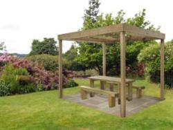 Dining Pergola (Without Panels)