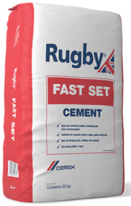 Rugby Fast Set Cement 25kg