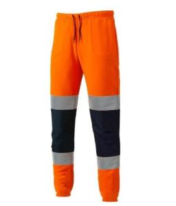 Dickies Hi-Vis Joggers Orange/Navy