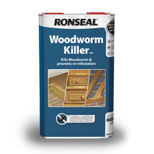 Ronseal Woodworm Killer 5 Ltr