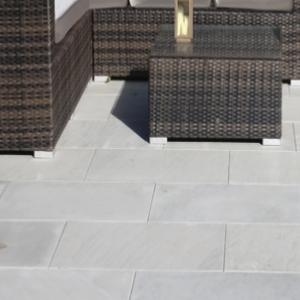 Platinum Flamed Sandstone Paving Project Pack