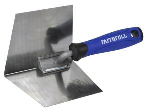 Faithfull Prestige Stainless Corner Trowel Internal 125 x 100mm