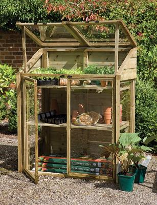 Mini Greenhouse, Planting Tables,  Compost Bins