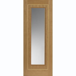 Roma Prefinished Oak Minerva Glazed Door