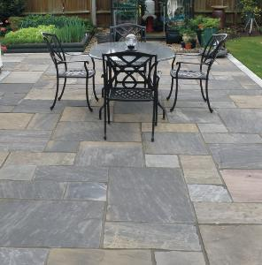 Graphite Sandstone Paving Calibrated Project pack 18.9M2