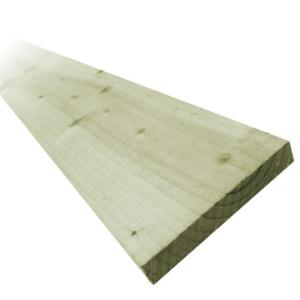 150 x 16mm x 2.4mtr Green Treated Fence Board