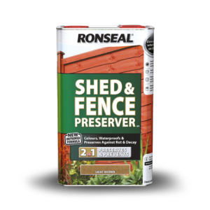Ronseal Shed and Fence Preserver 5ltr