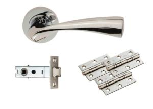 Sintra Ultimate Door Latch Pack Polished Chrome