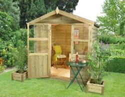 Charlbury Summerhouse 6x6 - Assembled On Site