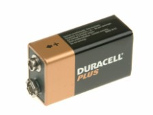 Duracell Twin Pack of Type 9V Batteries
