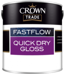 Crown Trade Fastflow Quick Dry White Gloss