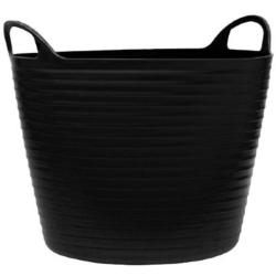 26Ltr Flexi Tub Black
