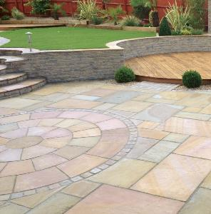 Harvest Sandstone Calibrated Paving 18.9m2