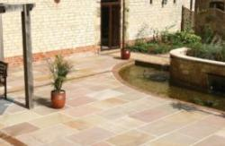 Yorkshire Blend Sandstone Paving Calibrated Project Pack 18.9m2